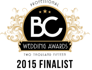 BC Wedding Awards Finalist