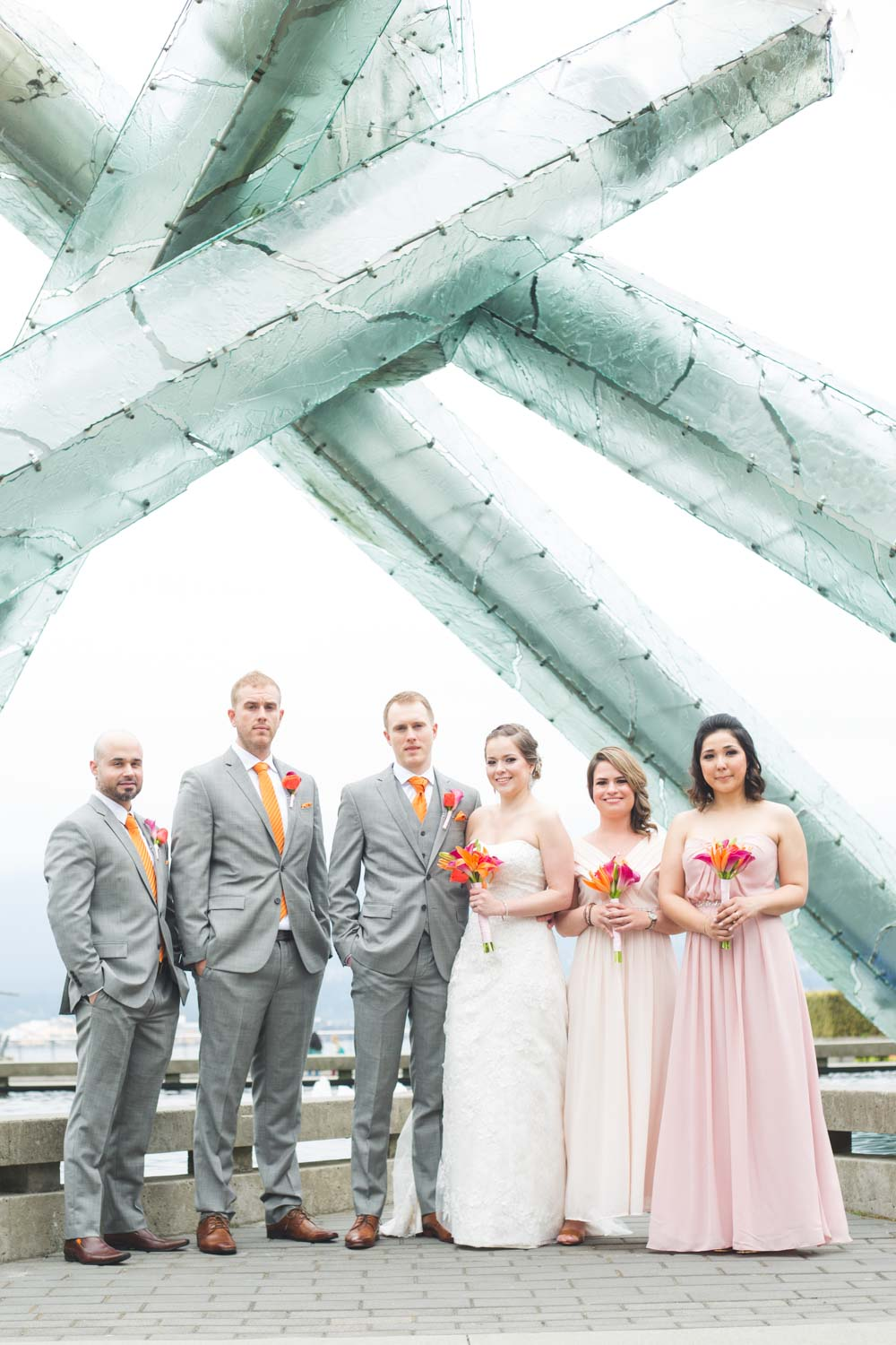 Vancouver Yacht Club Wedding Photo